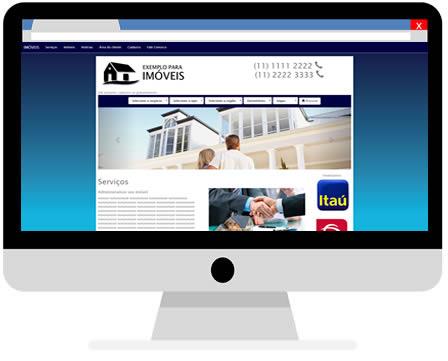 Site para imobiliaria barato com o Meu Site Agora